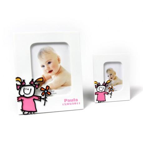 Portafotos Toy Poliresina Niña XL