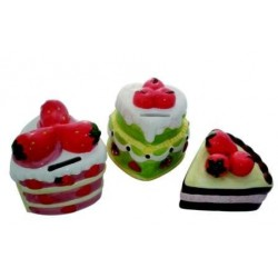 Hucha en forma de pastel