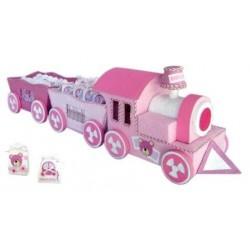 Expositor tren baby rosa (SOLO EXPOSITOR)