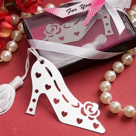 "Elegante punto de libro zapato ""LOVERS"" en cajita"