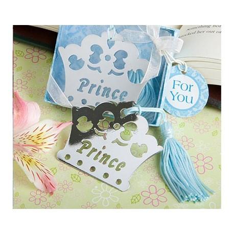 Elegante Punto de Libro Corona Prince