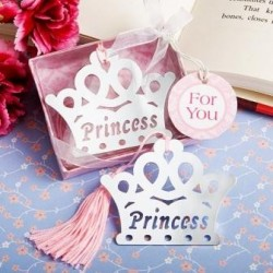 Elegante Punto de Libro Corona Princess