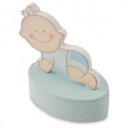 Cajita Bebe Azul